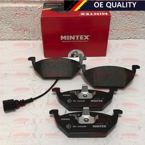 FOR AUDI SEAT SKODA VW BRAND NEW OE QUALITY MINTEX FRONT BRAKE PADS SET