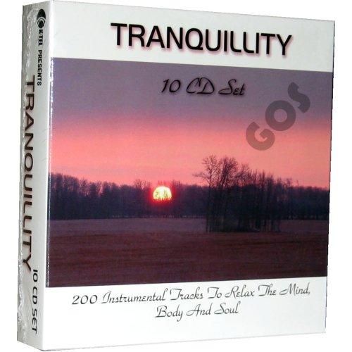 Tranquillity 10 CD K-Tel Relaxing Instrumental Tracks By Paul Brooks