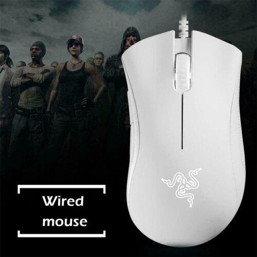 Death Adder Razer Gamer Mice Optical Ergonomic Essential Mouse