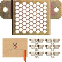 Beehive Picture Hangers Original Heavy Duty Adjustable 12 Pack