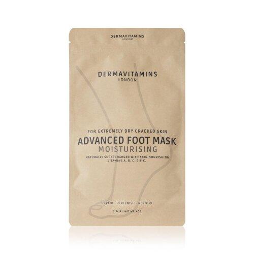 Dermavitamins Advanced Foot Mask Bag - Moisturising Treatment