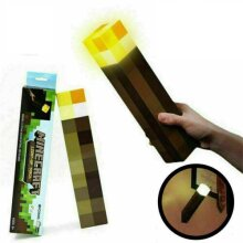 Kids' Minecraft Night Light Torch