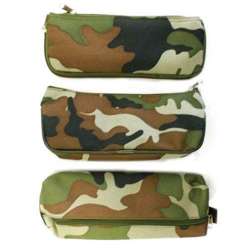 Combat Design Forest Camouflage Pencil Case