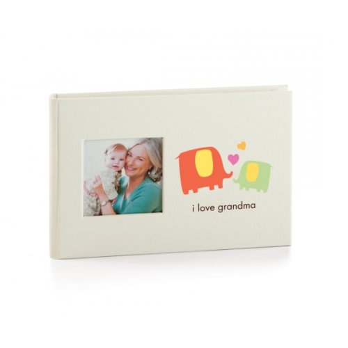 Pearhead Baby Brag Book I Love Grandma Boasting Book Photo Album