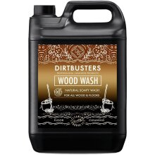 Dirtbusters Eco Wood Floor Wash Natural Soapy Wood Cleaner 5l