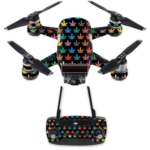 MightySkins DJSPCMB-Sticky Icky Icky Skin Decal for DJI Spark Mini Drone Combo - Sticky Icky Icky