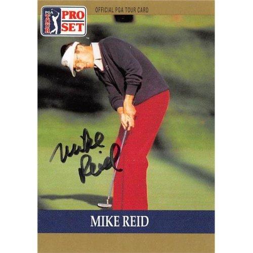 Autograph Warehouse 527992 Mike Reid Autographed Trading Card - Golf, PGA Tour & BYU Cougars, SC 1990 Pro Set No.26
