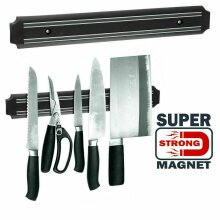 HK Power® Magnetic Wall Mounted Kitchen Knife Magnet Bar Holder 33 cm