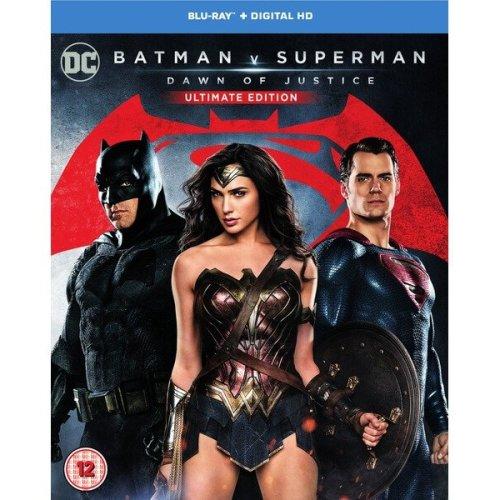Batman vs Superman - Dawn Of Justice - Ultimate Edition Blu-Ray [2016]