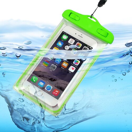 Samsung Galaxy Xcover Pro Green Waterproof Touchscreen Dry Bag