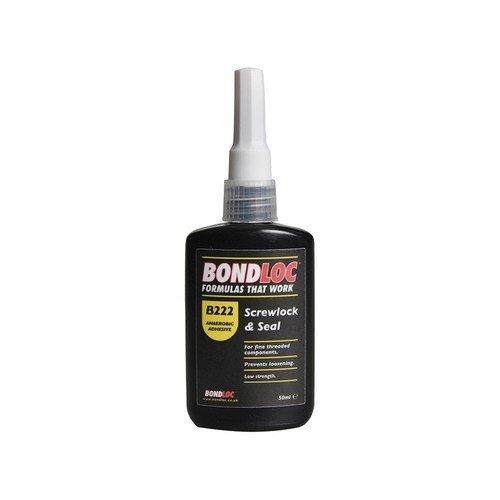 Bondloc B222-50 Screwlock Low Strength Threadlocker 50ml