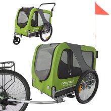 Doggyhut Large Pet Bicycle Trailer & Stroller 2 in 1