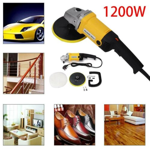 "Power Polisher 1200W 6"" Car Buffer Waxer Sander Waxing Buffing Machine"