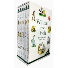 Winnie The Pooh 6 books the complete collecton BOX