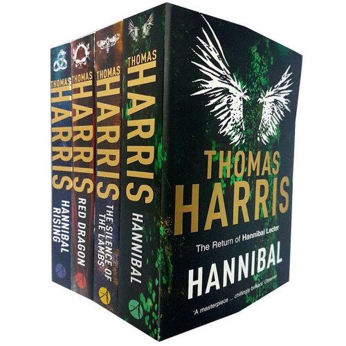 Thomas Harris 4 Books Collection Set Hannibal Lecter Series