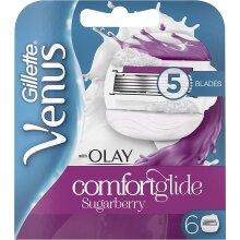 Gillette Venus Comfortglide Sugarberry Olay 2in1 Women's Razor Blade