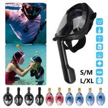 Anti Fog Full Face Snorkel Mask Scuba Goggles