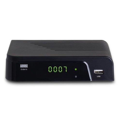 August DVB415 Freeview HD Box Recorder | HDMI Set-Top Box