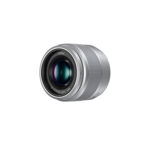 Panasonic H-H025E-S 25 mm/F1.7 ASPH Lens - Silver
