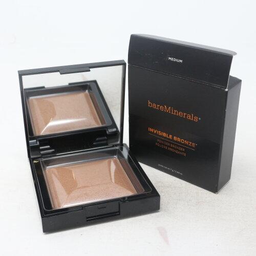 (Medium) Bareminerals Invisible Bronze Powder Bronzer  0.24oz/7g New With Box