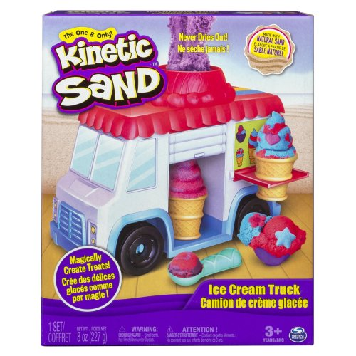 Kinetic Sand 6035805 Ice Cream Truck