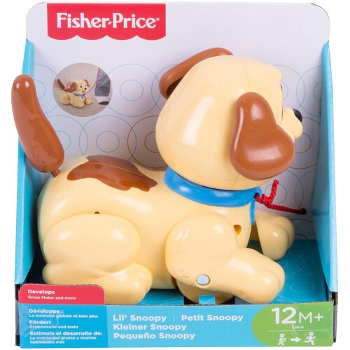 Fisher-Price Lil' Snoopy Pull-along Dog