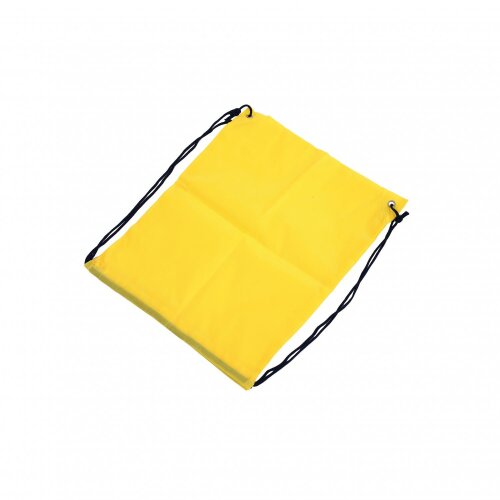 Oypla Oxford Cloth Sports School PE Yellow Laundry Drawstring Bag