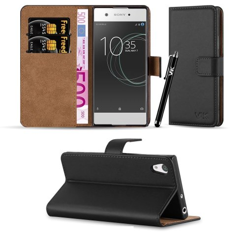 For Xperia XA1 Leather Wallet Case Cover