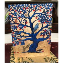 The Magic Apple Tree Greetings card by Hannah Willow