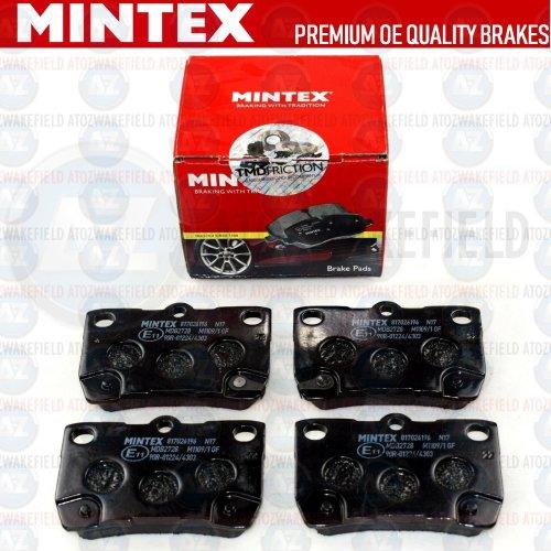 FOR LEXUS GS300 GS450h GS430 GS460 IS250 IS200d IS220d REAR MINTEX BRAKE PADS