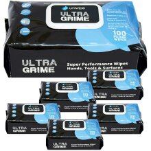 Uniwipe x6 Ultra Grime Ultragrime Industrial Multi-Purpose Cleaning Wipes X100