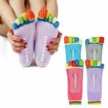 Non Slip Skid Pilates Yoga Socks Anti-Slip