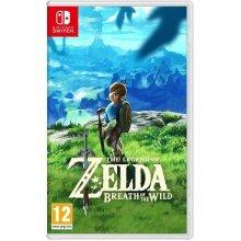 Legend of Zelda Breath of the Wild Nintendo Switch - Used