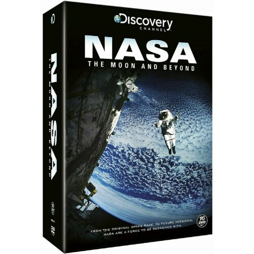 NASA: The Moon and Beyond 16 DVD Box Set Discovery Channel Brand New