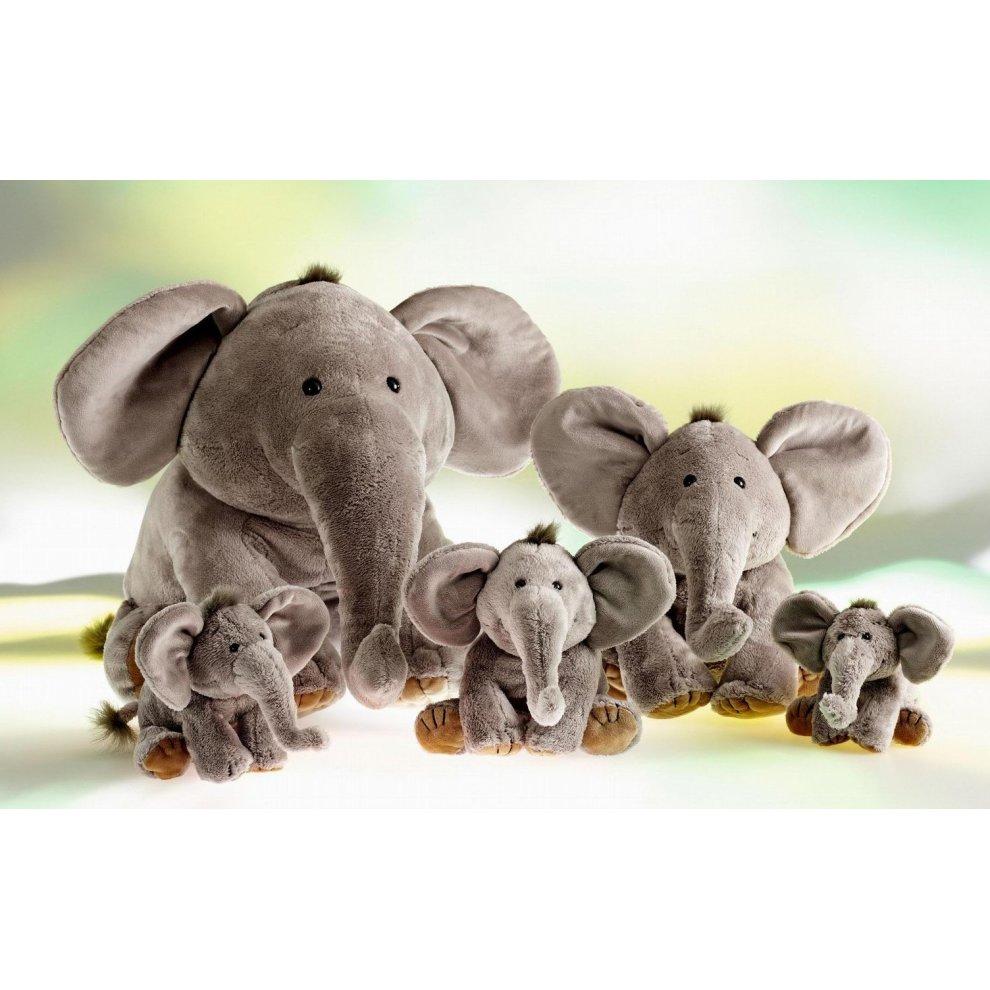 Rudolph Schaffer Elephant Sugar Keyring Soft Toy