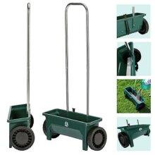Kabalo 12 Ltr Plastic Garden Lawn Seed Salt Grit Spreader Fertiliser Outdoor Feed Grass