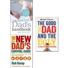 Expectant dads, survival guide, good the dad 3 Books Collection Set