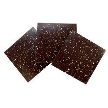 Speckled, dark chocolate panels - Box of 27