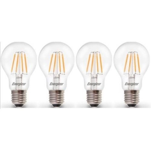 B22 4x 40W Clear Candle Dimmable Filament Light Bulbs BC Bayonet Cap Lamps