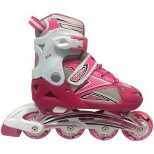 Move Kid's Inline Skates Eve M Pink Adjustable Children Sports Roller Blades
