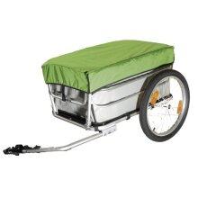 Aluminum Alloy Frame Luggage Cart, Bicycle Cargo Trailer With Rain Cover