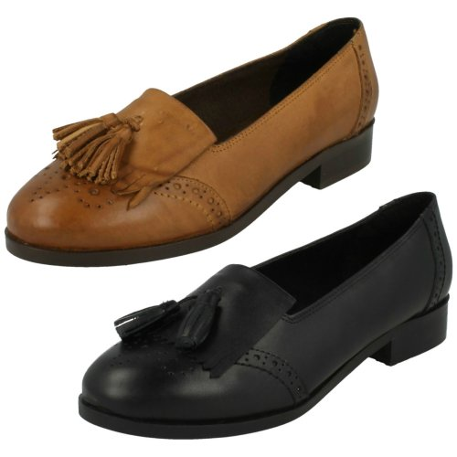 Ladies Leather Collection Loafers