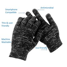 Antimicrobial Gloves – Silver coating limits the spread of COVID-19
