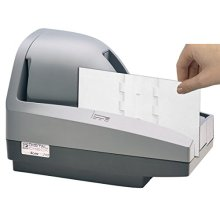 Waffletechnology Digital Check Scanner Cleaning Card featuring KWDCC CS1B15WS