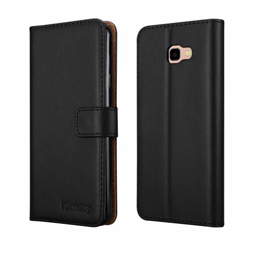 For Galaxy J4 + (2018) Leather Wallet Case Cover