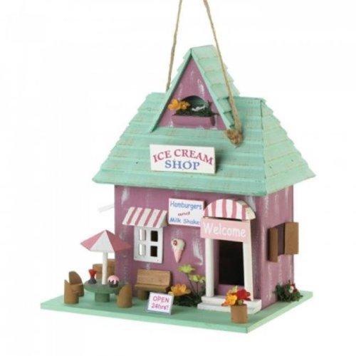 Songbird Valley 10018683 Ice Cream Shop Birdhouse