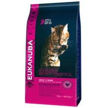Eukanuba Sterilised/Weight Control Adult Cat Food 3 kg