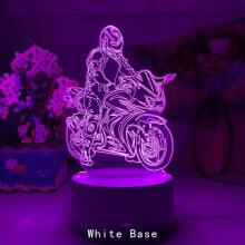 4d Lamp Motorcycle Racer Jonathan Rea Action