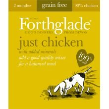 Forthglade Just Chicken Grain Free (395g) (Pack of 18)