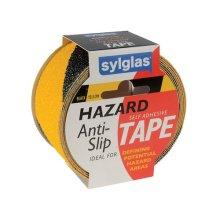 Sylglas 8622055 Anti-Slip Tape 50mm x 18m Black & Yellow